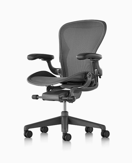 Herman Miller Aeron size C the best office chair for fat people