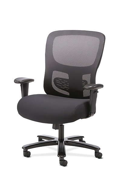 Hon Sadie Big and Tall Task Chair is an ergonomic office chair for big people